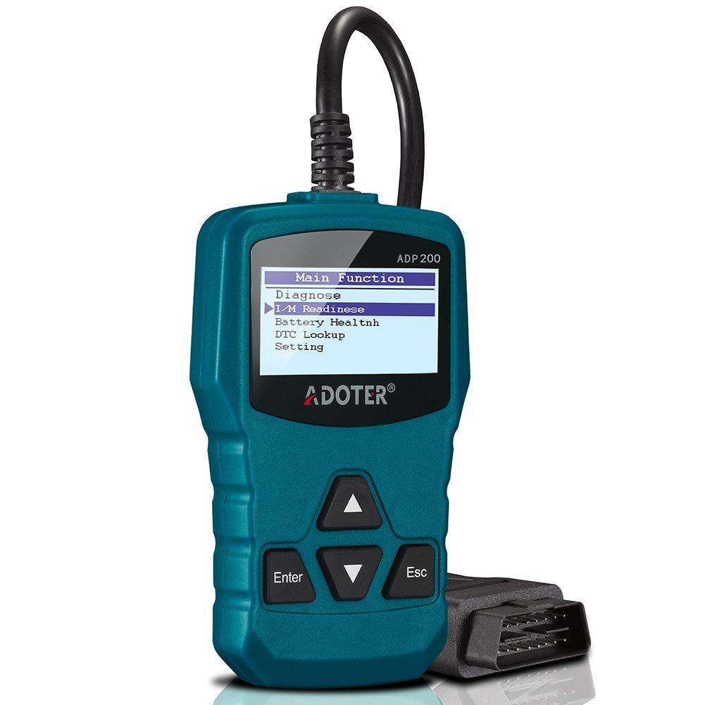 Amazon.com: Adoter Car Auto Engine Code Scanner,Universal OBD2 ...