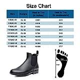 Colorxy Women's Ankle Rain Boots Fashion Elastic