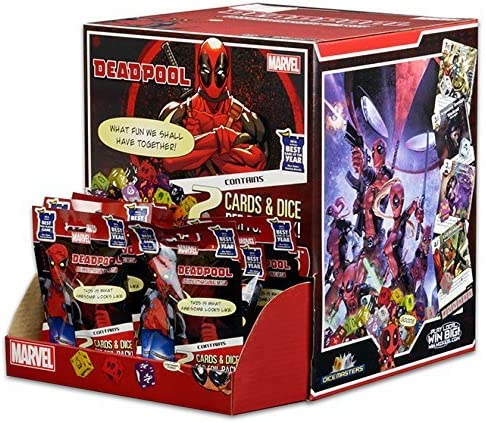Marvel Dice Masters Deadpool Lot of 10 Unopened Packs Boosters New: Amazon.es: Juguetes y juegos