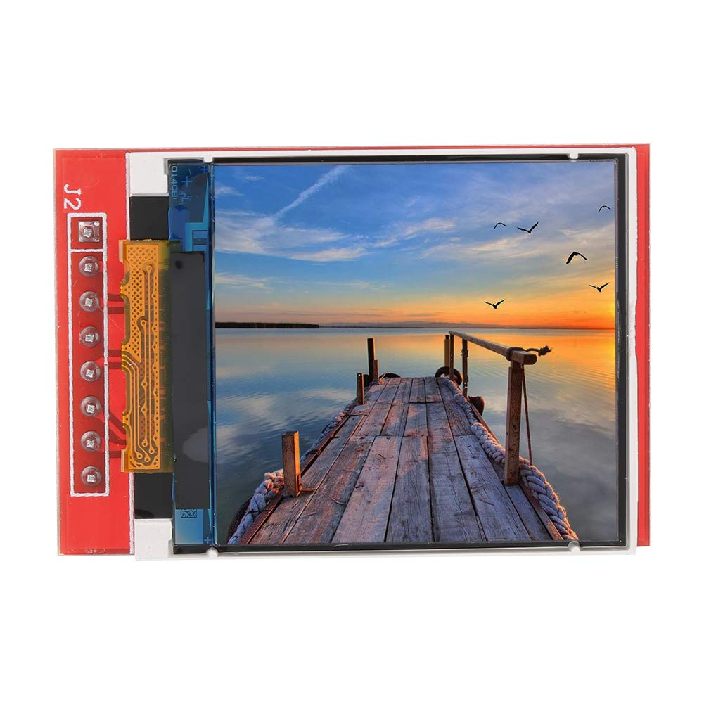LCD Display Module,1.44 LCD Red Serial 128X128 ST7735 Color TFT LCD Screen Module With PCB Plate for 5110//3310