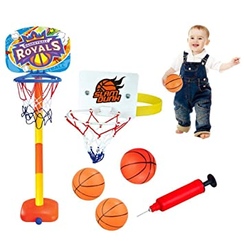 LYH Canasta Baloncesto Infantil 1.1M Soporte De Baloncesto para ...
