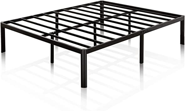 Mattress Foundation Zinus Van Metal Platform Bed Frame, Steel Slat Support