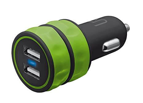 Trust Urban - Cargador doble USB universal de coche para ...