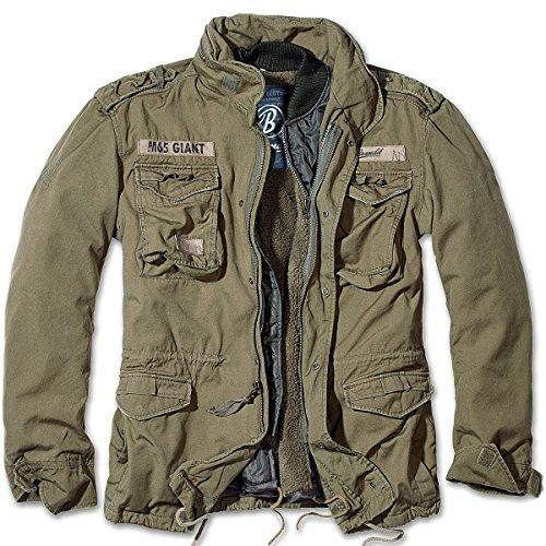 Brandit Men's M-65 Giant Jacket Olive Size M ()