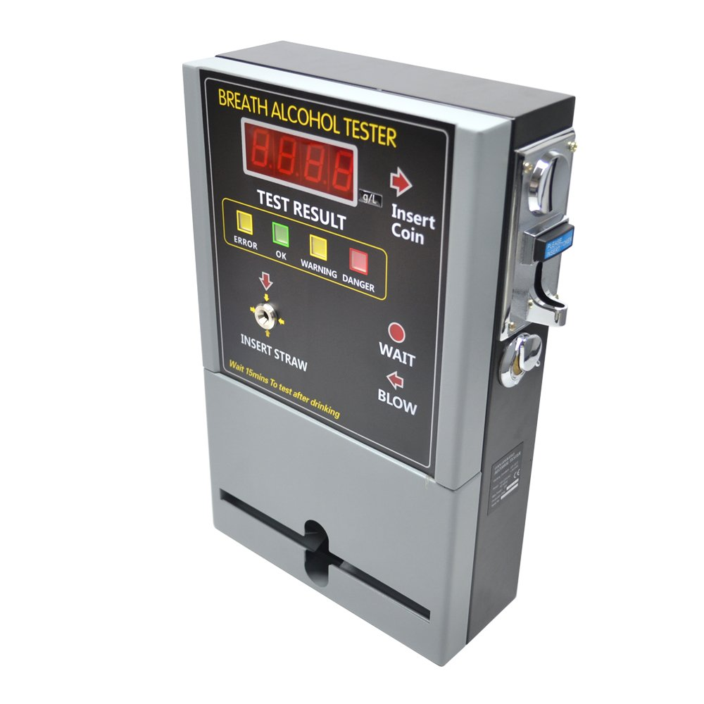 GREENWON Professional Coin Operated Alcohol Tester/Breathalyzer Machine for Bar / Hotel by GREENWON (Image #3)