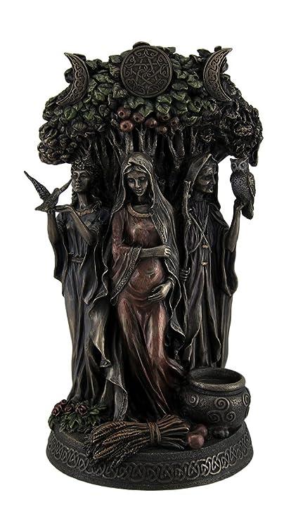 Amazon.com: Resin Statues Danu Irish Triple Goddess Of The Tuatha De ...