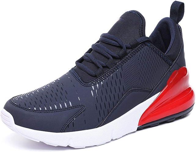 kai-da Zapatillas de Running para Hombre Jogging Zapatillas para Mujer Suela Transpirable Aire Libre Entrenamiento Deporte Zapatos, (Azul Rojo), 41.5 EU: Amazon.es: Zapatos y complementos