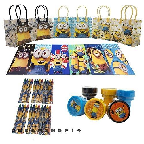 (Disney's Minions Party Favor Coloring Book Set (42 Pcs) by)