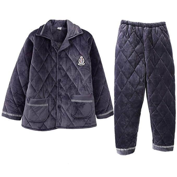MEIXIA Pijamas Batas Kimonos Ropa De Dormir Coral Fleece ...