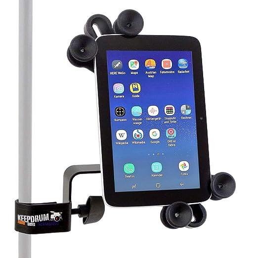 Keepdrum variable Soporte de PC Tablet IPAD Soporte con Multi - 7 - 14 pulgadas: Amazon.es: Instrumentos musicales