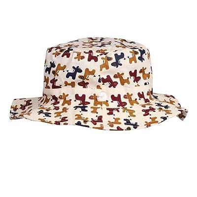 Chapeau de Pêche Bonnet de soleil en Coton Unisexe Casquette Capeline  Anti-UV Protection Solaire f608cc8df023