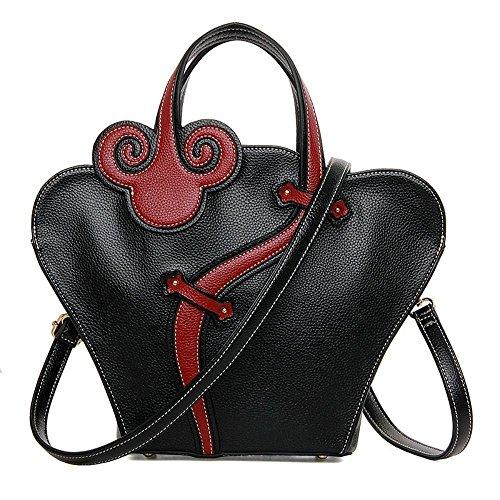Aoligei La mode nationale vent élégante femme sac sac à main à la mode rétro que rouge on le vent sac de fille