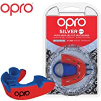 OPRO Silver Level Mouthguard | Gum Shield for Rugby, Hockey, MMA and other Contact and Combat Sports