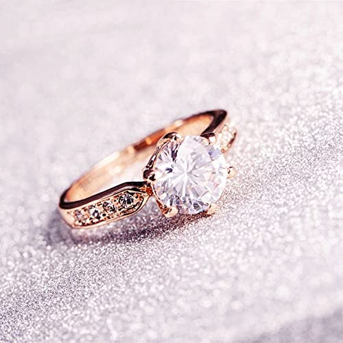 Amazoncom SPILOVE Serend 18k Rose Gold Plated 15ct Heart and