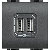 USB 2 Way Socket Charger for Mobile