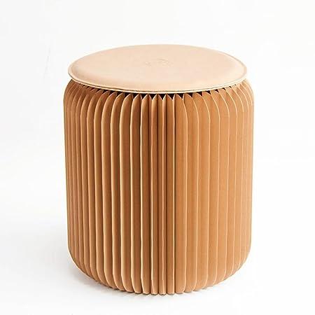 Hj European Folding Chairs Paper Stool Stool Fashion Ideas Low Tea Stool  Household Small Apartment Furniture