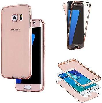 SevenPanda Samsung Galaxy Note 8 Funda para Teléfono Celular, Umbrella Ultra Slim 360 Grados Negro Funda de Cuerpo Completo con Estuche Funda: Amazon.es: Electrónica