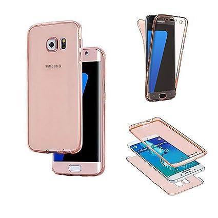 SevenPanda Samsung Galaxy Note 8 Funda para Teléfono Celular, Umbrella Ultra Slim 360 Grados Negro Funda de Cuerpo Completo con Estuche Funda - Rosa ...