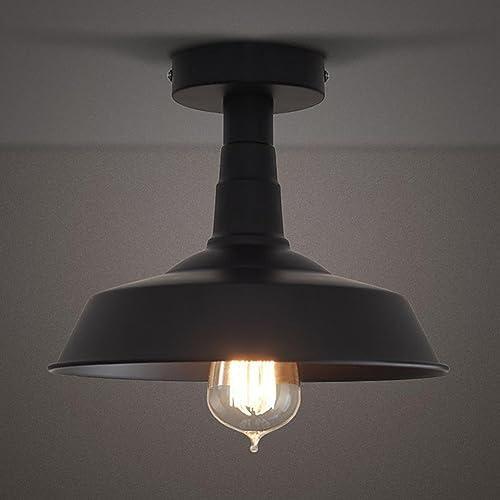 Industrial Light Fixtures Amazon: Flush Mount Outdoor Lights: Amazon.com