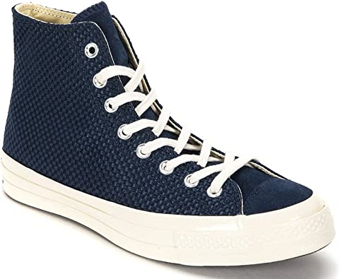 Converse Chuck Taylor All Star 70 High top Sneakers 155451C ObsidianEgret (US Men's 8.5 Women's 10.5)