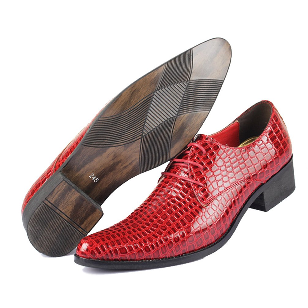 Phil Betty Mens Oxfords Shoes Flats Lace-Up Fashion Casual Formal Shoes by Phil Betty (Image #3)