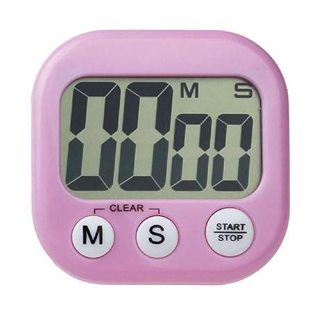 Cocina Temporizador - SODIAL(R)Magnetico cocina digital LCD cuenta atras hasta contador temporizador