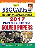 Kiran's SSC CAPFS (CPO) 2017, Paper I & Paper II Solved Papers (English) - 2175