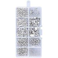 KKmoon Kit de Fabricação de Jóias Descobertas Jóias Conjunto de Iniciantes Jóias Beading Ferramentas de Fabricação e…