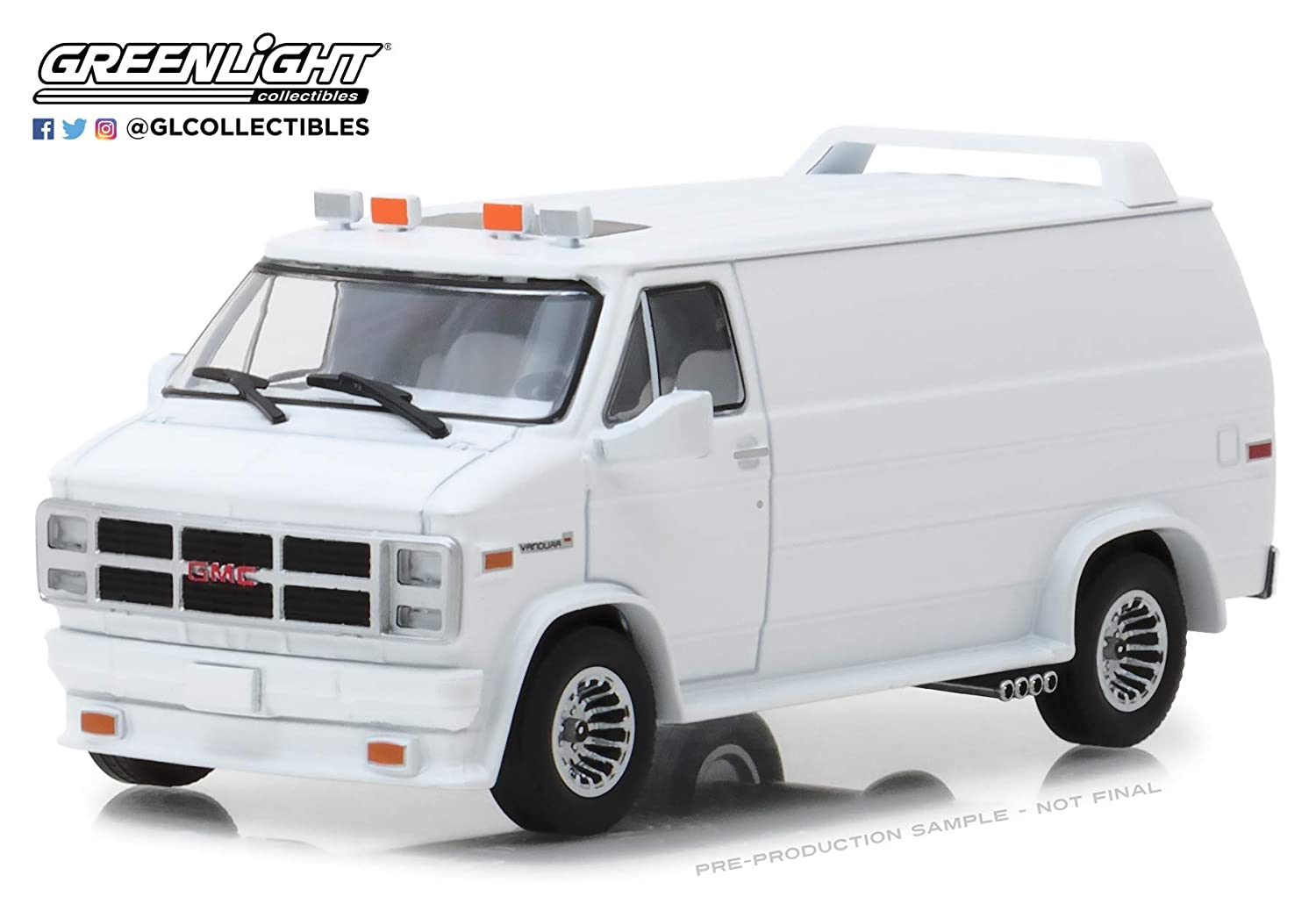 Greenlight 86326 Greenlight 1 43 1983 GMC Vandura Ready to Customize White