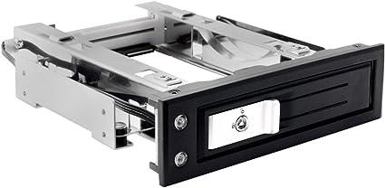 "Single Bay 2.5/"" 3.5/"" SATA Hard Drive HDD SSD Hot Swap Mobile Rack Enclosure LED"
