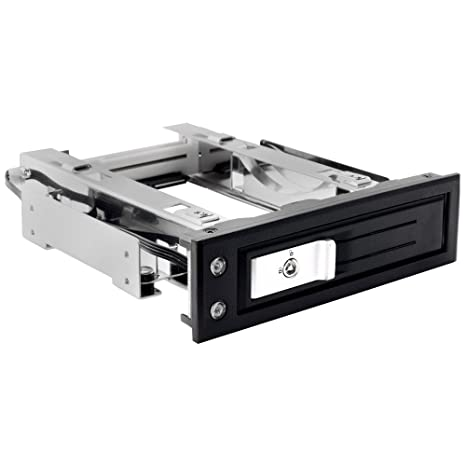 "Kingwin Performance Single Bay Hot Swap Mobile Rack for 3.5"" SSD/HDD, Internal Tray-Less SATA Hard Drive Backplane Enclosure, Support SATA I/II/III & ..."