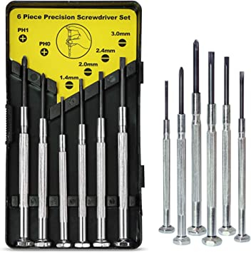 6 Pc Star Bit Screwdriver Set