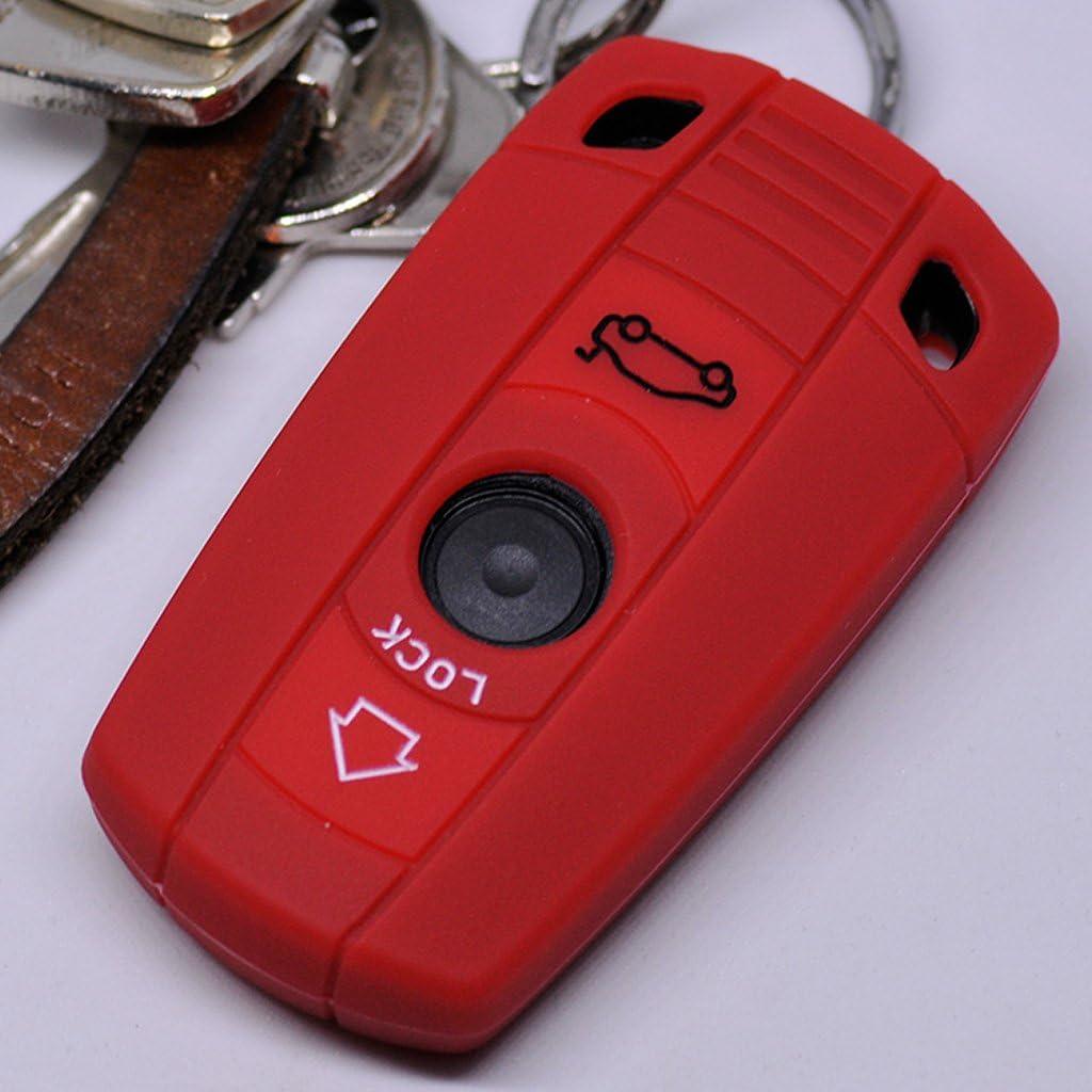 Soft Case Schutz Hülle Auto Schlüssel Für Bmw E90 E91 Elektronik