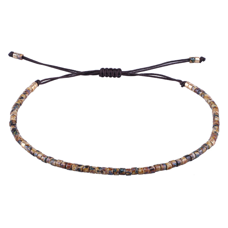 mode de vente chaude fournir beaucoup de produits chauds KELITCH Seed Beaded Friendship Bracelets Thin Rope Bracelets Women Handmade  Jewelry