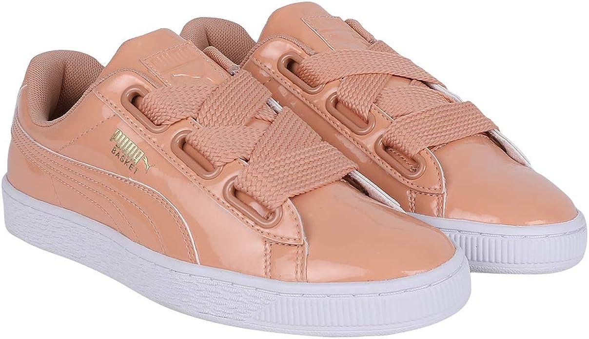 Puma Basket Heart Patent Sneakers Damen Rosa