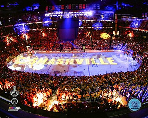 Bridgestone Arena Nashville Predators Game 3 2017 Stanley Cup Stadium Photo (Size: 8 x 10) Photo File