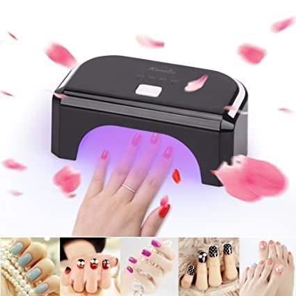 KEDSUM 12W LED Nail Lamp Curing Lamp-One-button Control-10s, 30s, 60s and 300s with Auto Shutoff-Nail Dryer