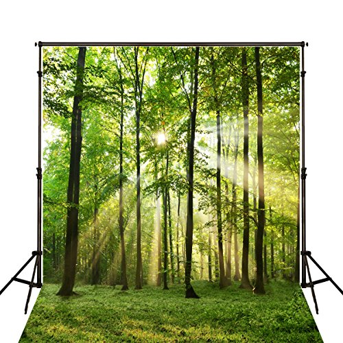 5x7ft-green-spring-backdrops-photography-forest-grassland-sunlight-photo-studio-background-ft2555