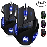 7627e5f5dc16 Amazon.com: GBSELL 1200 DPI Optical USB Wired Game Mouse Mice For PC ...