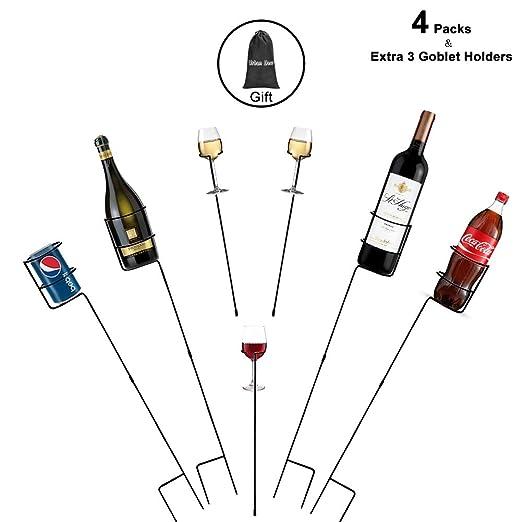 Urban Deco - Juego de 7 estacas Resistentes para Bebidas y Bebidas ...