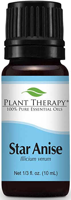 Plant Therapy Star Anise Essential Oil. 100% Pure, Undiluted, Therapeutic Grade. 10 ml (1/3 oz).