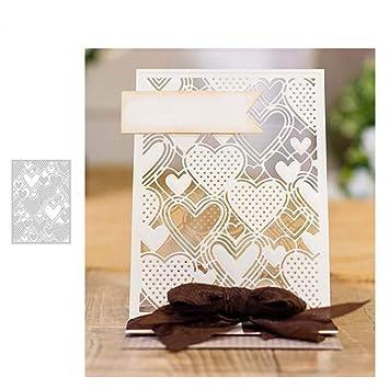 Stanzformen 3D-Blumendesign Basteln Papier Schablone Basteln Karten Werkzeug Scrapbooking Karten zmigrapddn Stanzschablone Pr/ägung Album Metall silber Schablone