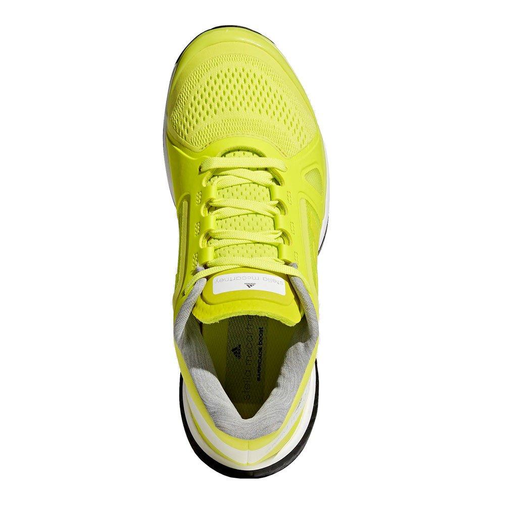 Amazon.com | adidas ASMC Barricade Boost Womens Tennis Shoes - SS18-5.5 - Yellow | Tennis & Racquet Sports