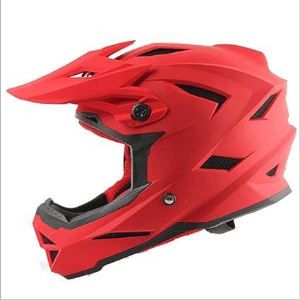 GXQ Casco ABS Motocross Motocross Mountain Bike Locomotora Helmet Fasten Helmet Racing Casco Hombres y Mujeres