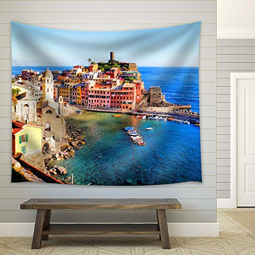 Vernazza Village and Stunning Sunrise Cinque Terre Italy Europe