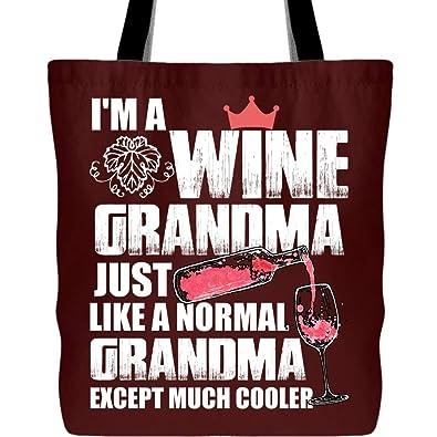 Amazon.com: Una abuela de vino es mucho más fría bolsa con ...