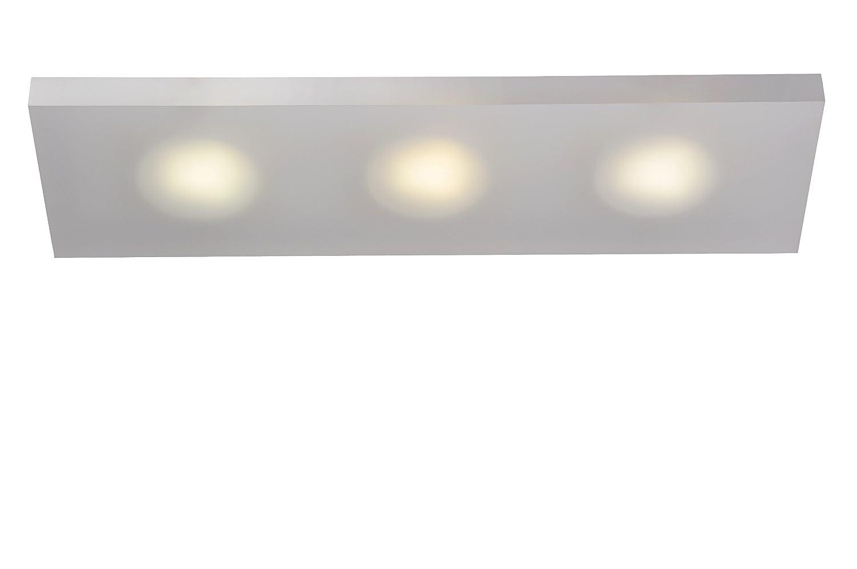Lucide WINX-LED - Applique Murale Salle de bains - LED - 3x7W 3000K - IP21 - Opalin