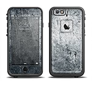 The Grungy Gray Textured Surface Skin Set for the Apple iPhone 6 LifeProof Fre Case (Skin Only)