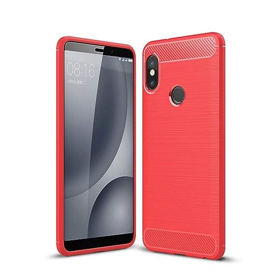 wholesale dealer 4e3c5 aa28b Xiaomi Redmi Note 5 Pro Case/Xiaomi Redmi Note 5 Case, AVIDET  Shock-Absorption Flexible Soft Gel TPU Silicone Case Cover for Xiaomi Redmi  Note 5 / ...