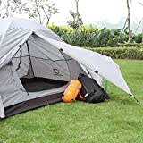 Bessport Backpacking Tent 1-2 Person Ultralight
